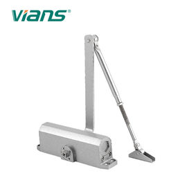 الصين Aluminum Alloy Industrial Door Closer , Heavy Duty Door Closer For Fire Doors Max 80KG مصنع